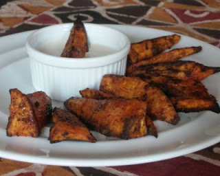 Quick! Grab some sweet potato fries while they're hot!