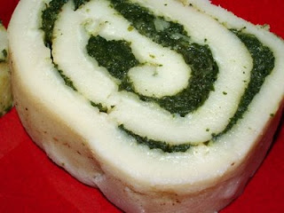Look, a vegetable jelly roll cake!
