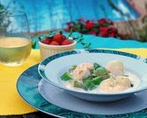 August - Summer Seafood Chowder