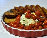 Herbed Ricotta with Roasted Cherry Tomatoes (above)