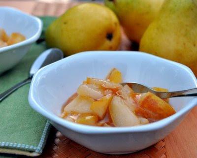 Easy-Easy Pear Sauce