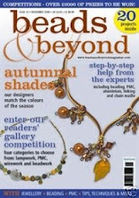 Featured in Beads & Beyond - Nov 2008