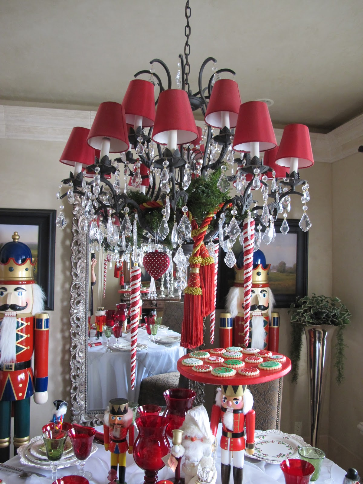 Ceiling fan dressed for christmas on pinterest ceiling for American decoration ideas