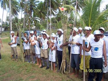Escoteiros da Comunidade no CUW- 05