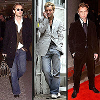 Jude Law casual style