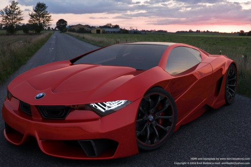 A New Model From BMW Came Up With His Design That Resembles A Lamborghini,  A Car From Bmw This Is Supposedly His Speed Exceeded Lamborghini Reportedly  ...