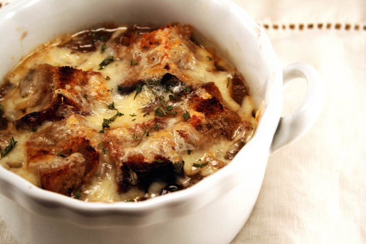 Food: Classic French Onion Soup