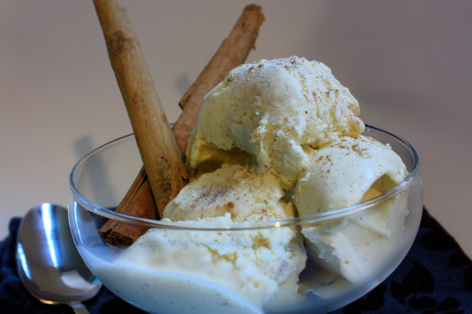 Cooking in Cucamonga: Cinnamon Ice Cream