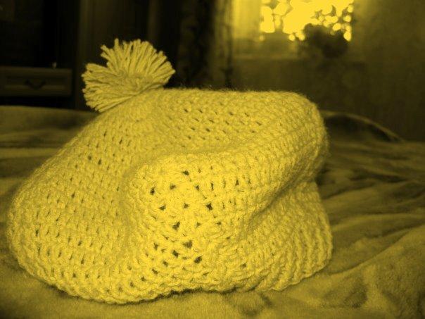 Схема вязания берета. Вязание