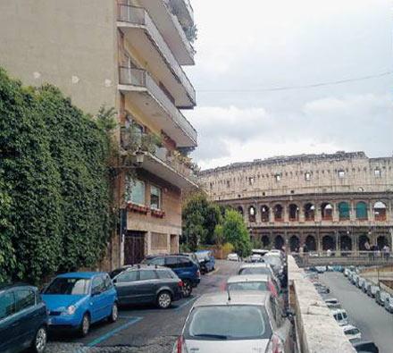 L'appartamento di Scajola vicino al Colosseo
