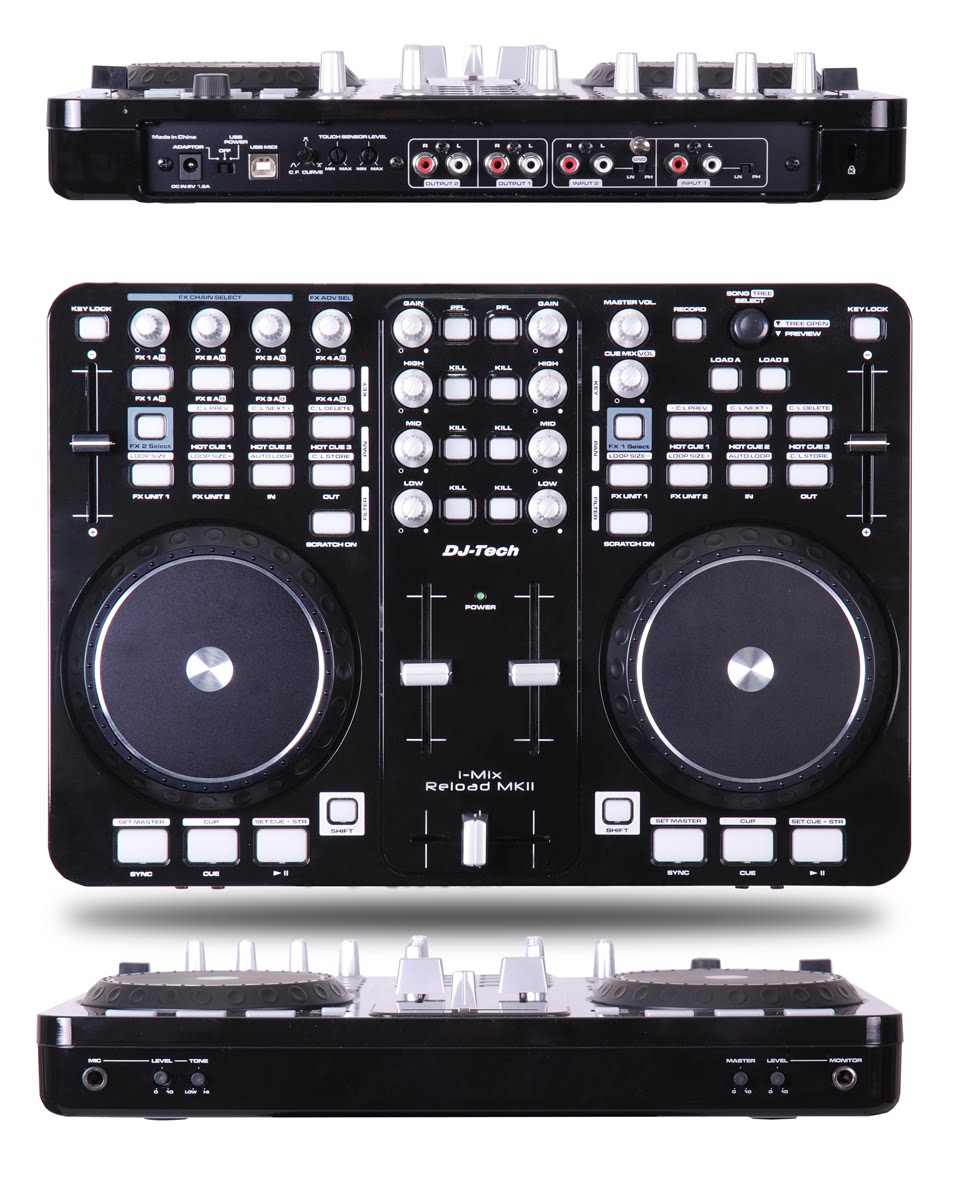 Dj-tech I-mix Reload Orange Dj-tech I-mix Reload Mkii