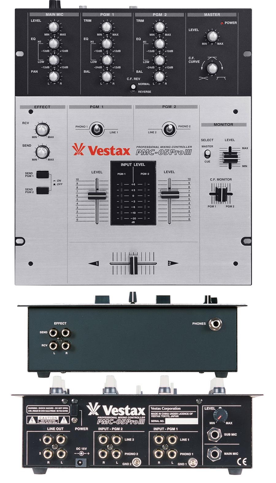 Vestax Pmc-05proiii Vca Vestax Pmc-05proiii Vca
