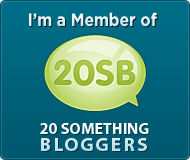 20 Something BLogger Member