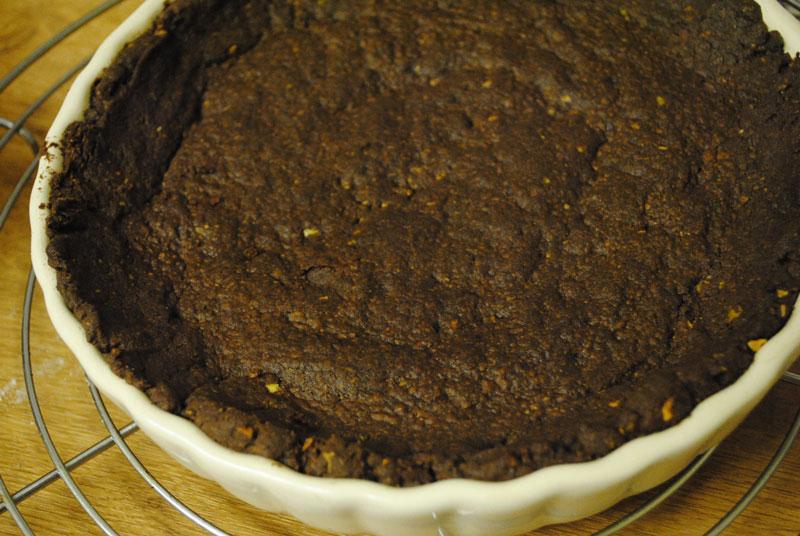 countryheartandhome: Chocolate Pistachio Tart - week 34 :)