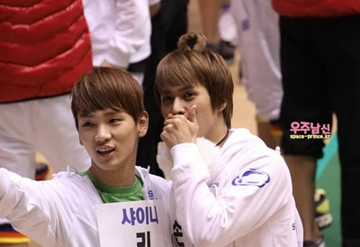 [News] Afeto de Key e Dongwoon, do B2ST, no Idol Star Atletics? Tumblr_lfiurrz4BN1qcl8qx
