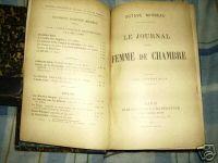 """""""Le Journal d'une femme de chambre"""", 1900"""