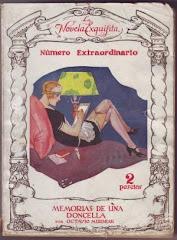 """Traduction espagnole du """"Journal d'une femme de chambre"""", 1926"""