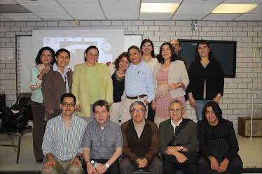 Integrantes del proyecto PAPIME PE400909 y algunos amigos