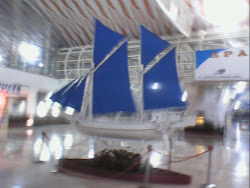 Phinisi Ship at Sultan Hasanuddin International Airport