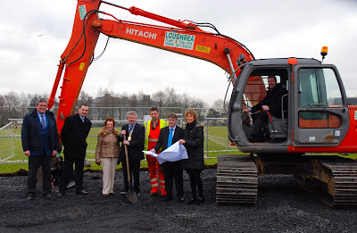 MEDIA IMAGE Construction Of Ennis Playground Facility Commences