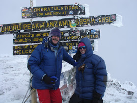 At the Kili summit