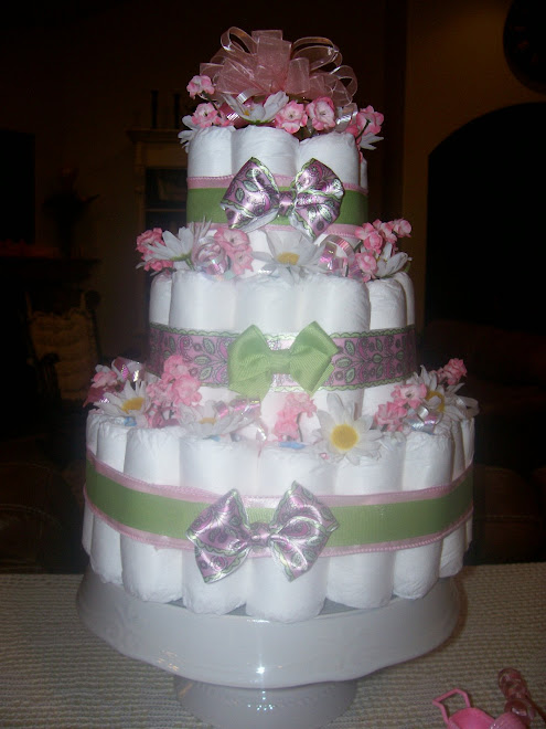 3 Tier Girl- Pink/Green