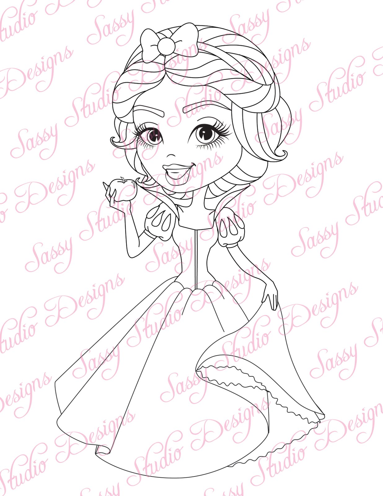 Baby Snow White Drawing