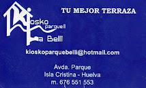 KIOSKO PARQUE LA BELLI