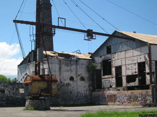 Abandoned sugar cane factory of Pierrefonds part 1: Around ...