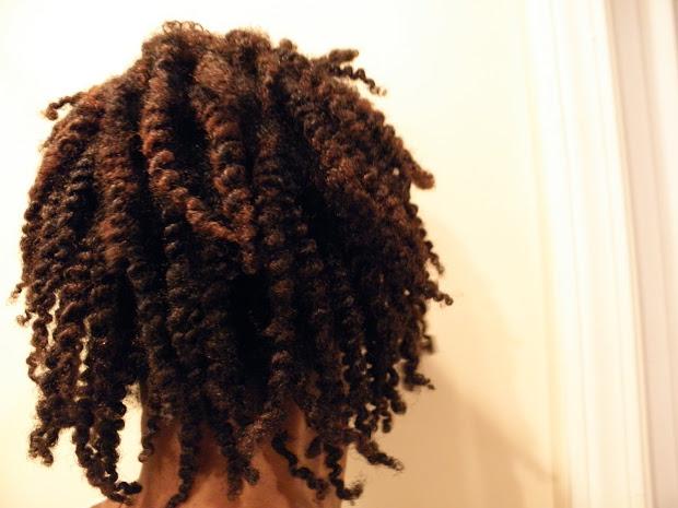 natural hair twistout