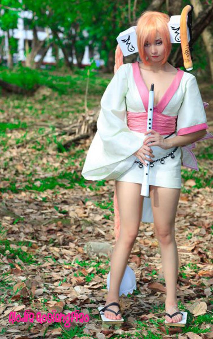 Cute Alodia Gosiengfiao Cosplay As Magna Carta Anime Cosplay