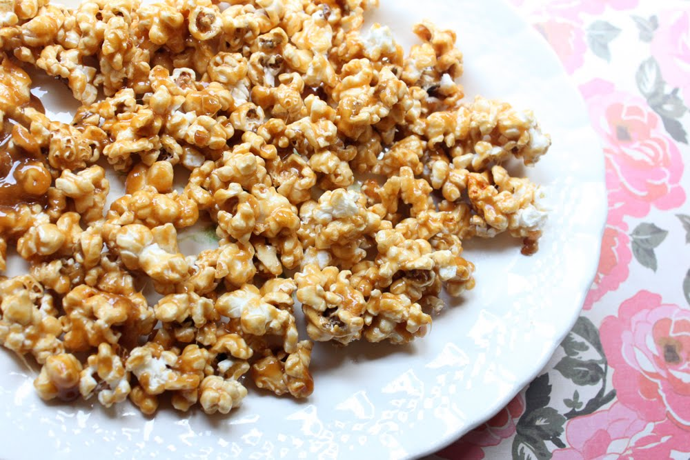 {The Ardent Sparrow}: Weekend Project {Caramel Corn}