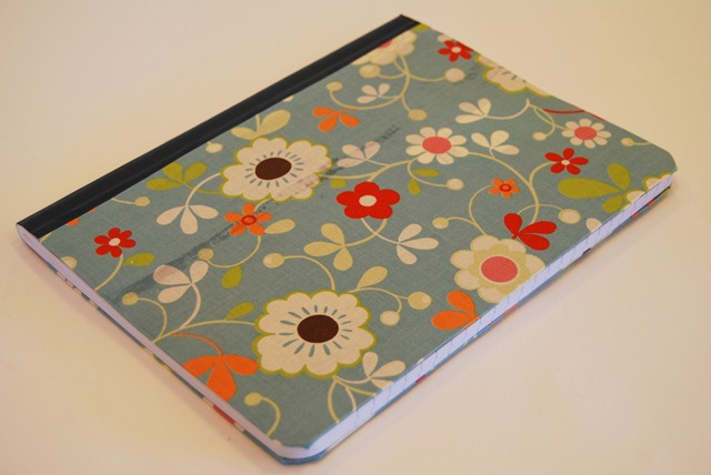 Fabric Cover For Composition Book : Pretty little crafts fabric covered composition book