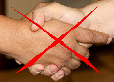 No handshaking is an effective tool to prevent a swine flu pandemic.