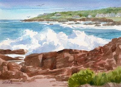 Perkins Cove Maine Coast