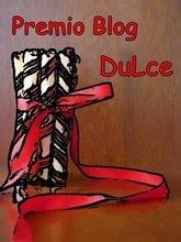 Premio blog dulce