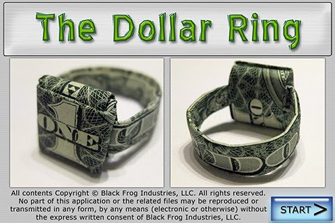 dollar bill origami ring. Dollar Ring Origami IPA 2.0