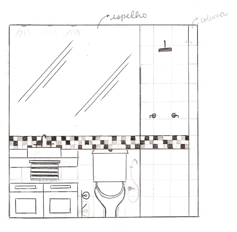OLHA O MEU APÊ Foi dada a largada!! E a idéia do banheiro -> Altura Ideal Para Cuba Banheiro