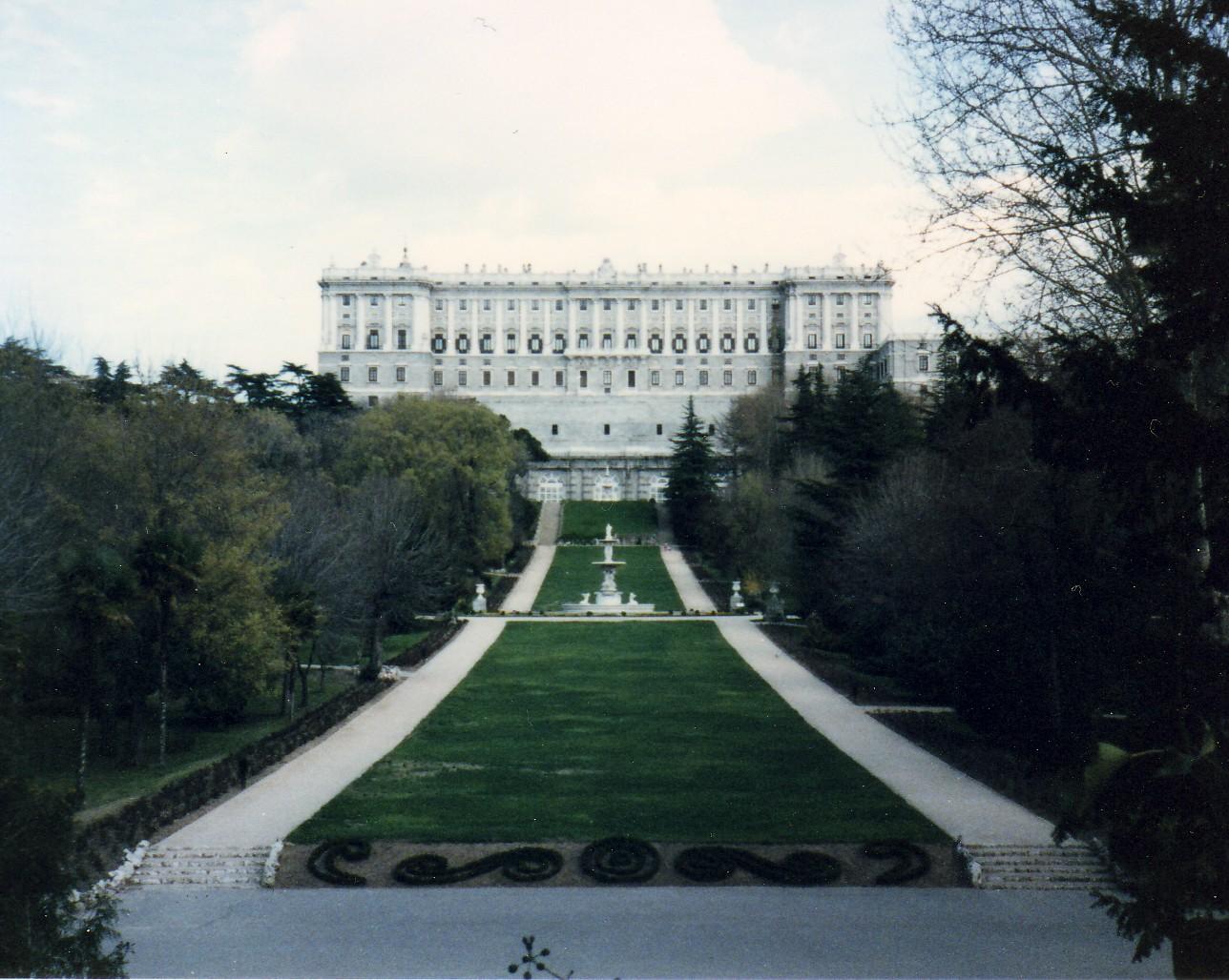 Historia arte neocl sico y barroco - Jardines palacio real madrid ...