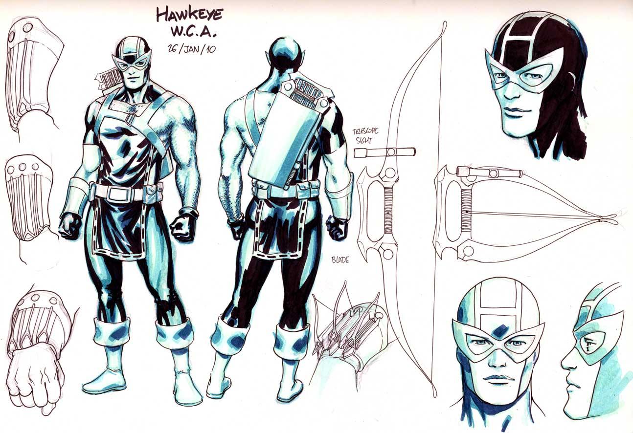 Hawkeye and Mockingbird roll!