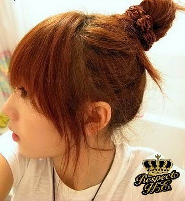 anime hairstyle for girls. asian hair style girls
