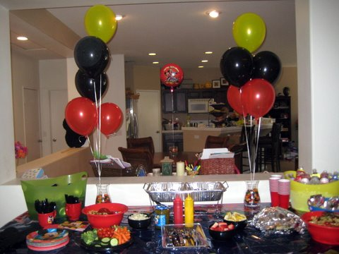 Mickey Mouse Decorations Ideas