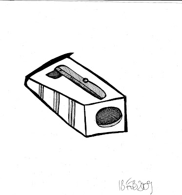 How to draw squirrel drawing for Pencil sharpener coloring page