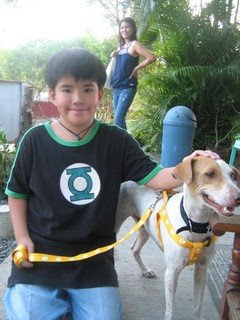 Emil, the former shelter dog - MeFindHome.org