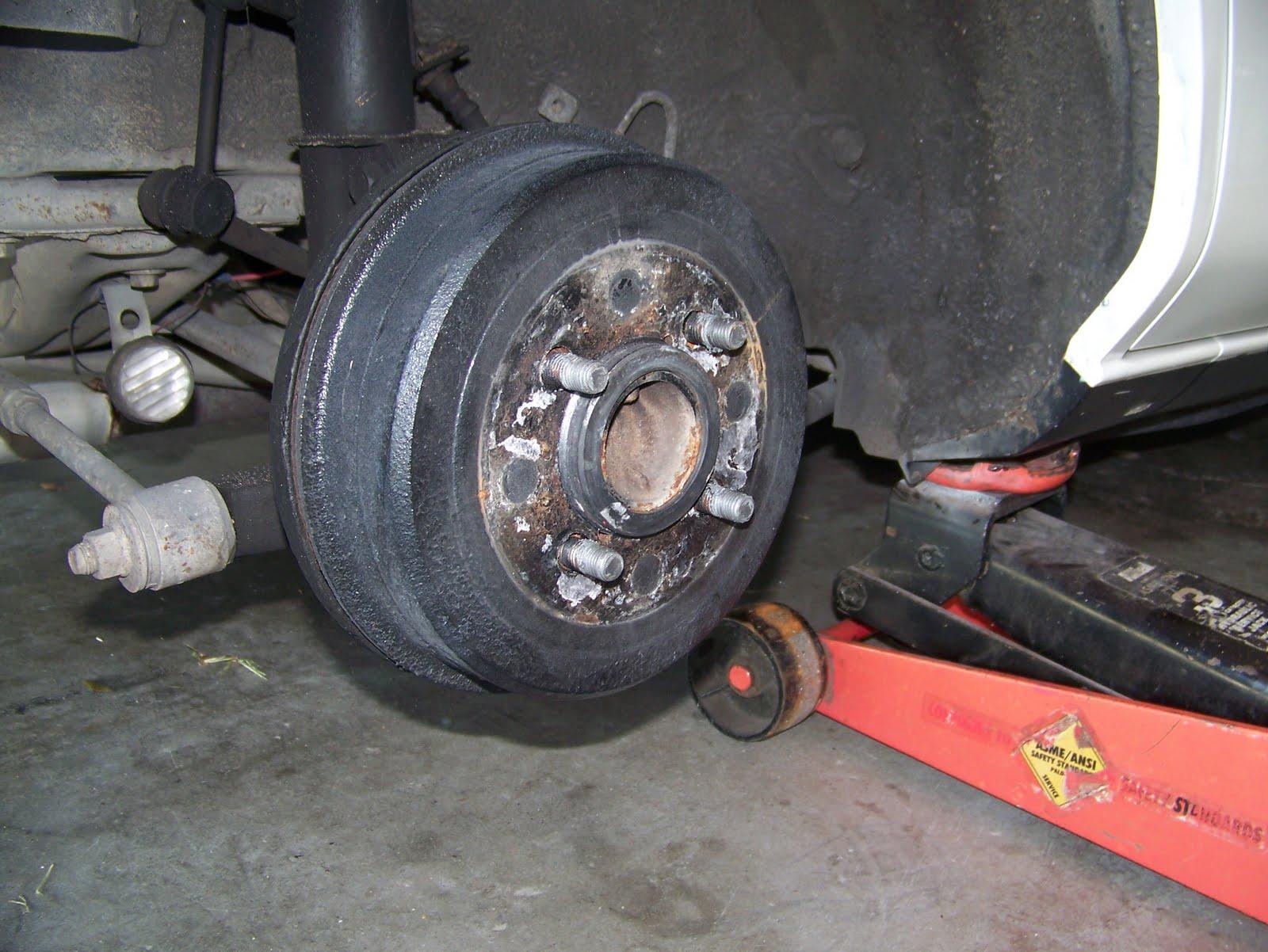 Diy rear brakes wheel cylinder corolla 93 02