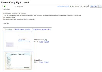 Hot! Download Tutorial Verifikasi Paypal Tanpa Kartu Kredit dan VVC 2011 Terbaru