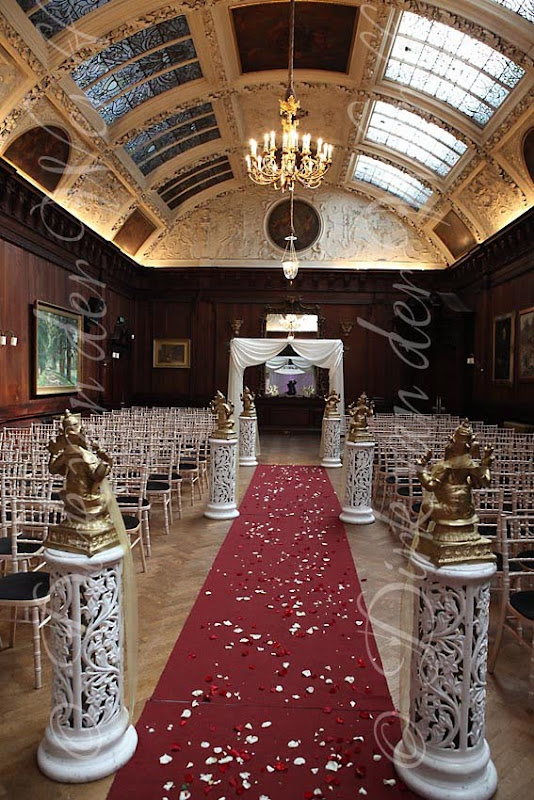 thornton manor all decorated for ritu and vens wedding