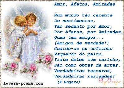 POEMAS de AMOR em português Poesia Romântica: Amor