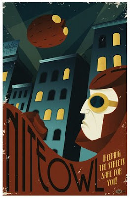 Nite Owl Poster