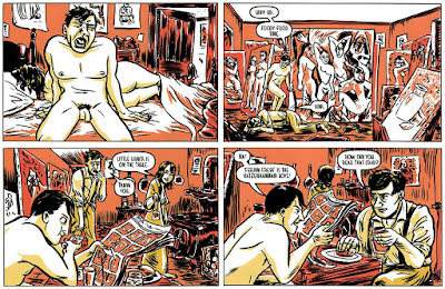 Braque and Picasso discuss comics